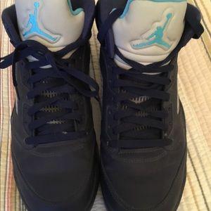 Nike Air Jordan V5 Retro Hornets